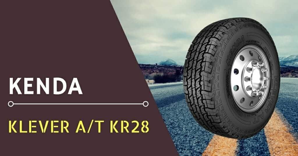 Kenda Klever A//T KR28 All-Terrain Radial Tire 27//8.5R14 95C